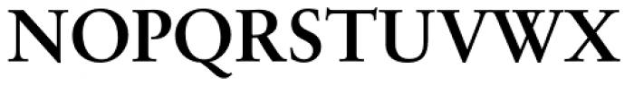 Sabon Cyrillic Bold Font UPPERCASE