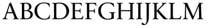 Sabon Next Pro Display Font UPPERCASE