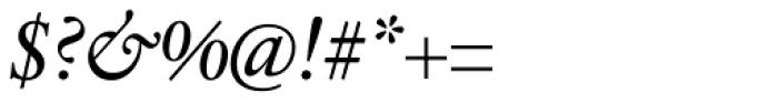 Sabon Next Pro Italic Font OTHER CHARS