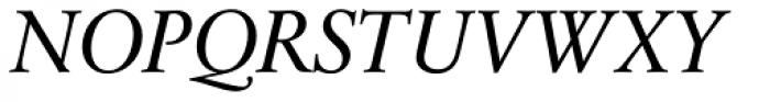 Sabon Next Pro Italic Font UPPERCASE