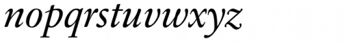 Sabon Next Pro Italic Font LOWERCASE