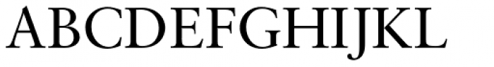 Sabon Pro Roman Font UPPERCASE