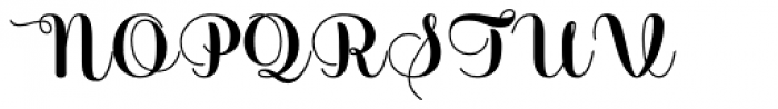 Sabores Script Black Font UPPERCASE