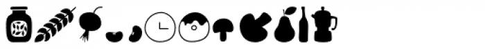 Sabores Script Dingbats Font OTHER CHARS