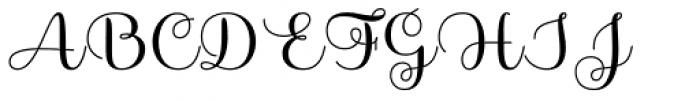 Sabores Script Semibold Font UPPERCASE