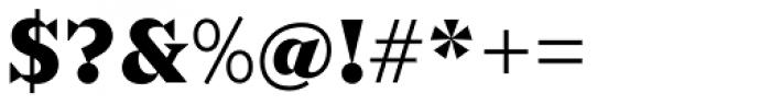 Sabre Black Font OTHER CHARS