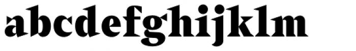 Sabre Black Font LOWERCASE