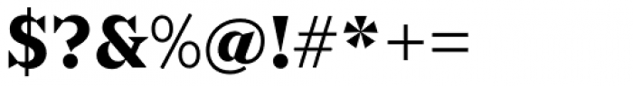 Sabre Bold Font OTHER CHARS