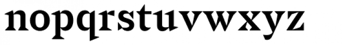 Sabre Medium Font LOWERCASE