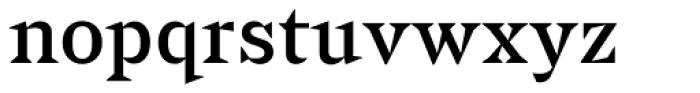 Sabre Regular Font LOWERCASE