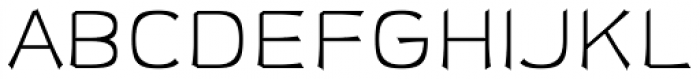 Sabron Light Font UPPERCASE