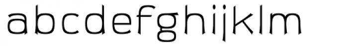 Sabron Light Font LOWERCASE