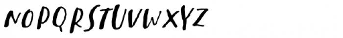 Sachie Script Regular Font UPPERCASE