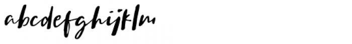 Sachie Script Regular Font LOWERCASE