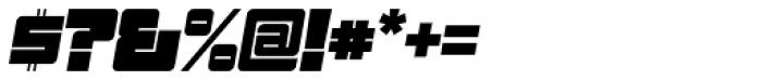 Sackem PB Jumbo Oblique Font OTHER CHARS