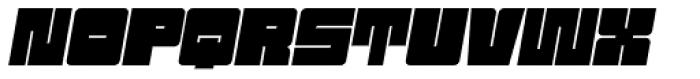 Sackem PB Jumbo Oblique Font UPPERCASE