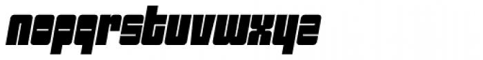 Sackem PB Narrow Oblique Font LOWERCASE