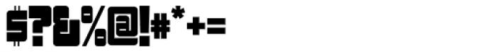 Sackem PB Narrow Font OTHER CHARS