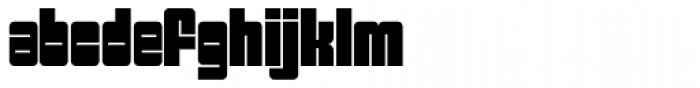 Sackem PB Narrow Font LOWERCASE