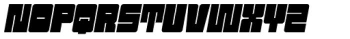 Sackem PB Oblique Font UPPERCASE
