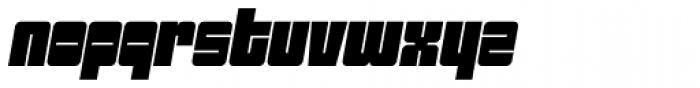 Sackem PB Oblique Font LOWERCASE