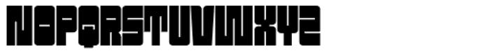 Sackem PB Slim Font UPPERCASE