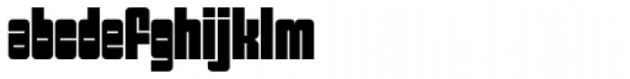 Sackem PB Slim Font LOWERCASE