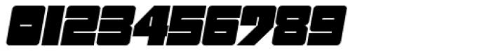 Sackem PB Wide Oblique Font OTHER CHARS