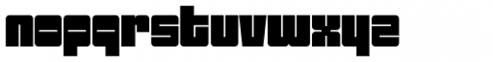 Sackem PB Wide Font LOWERCASE