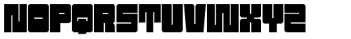 Sackem PB Font UPPERCASE