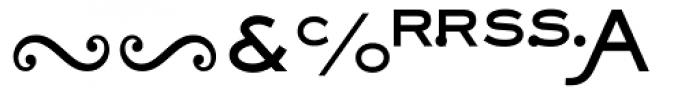 Sackers Heavy Gothic Alt Font LOWERCASE