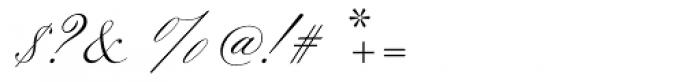 Sackers Italian Script Font OTHER CHARS
