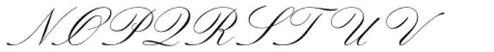 Sackers Italian Script Font UPPERCASE