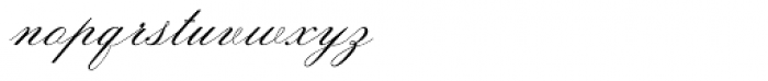 Sackers Italian Script Font LOWERCASE
