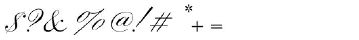 Sackers Script Std English Script Font OTHER CHARS