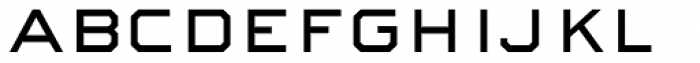 Sackers Square Gothic Font LOWERCASE