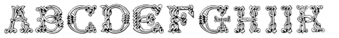 Sacnoth Font UPPERCASE