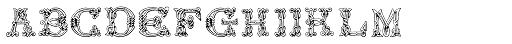 Sacnoth Font LOWERCASE