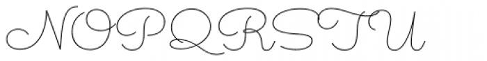 Sacramento Pro Slim Font UPPERCASE