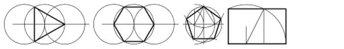 Sacred Geo Font LOWERCASE