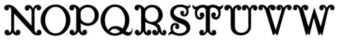Saddle Hitch JNL Font UPPERCASE