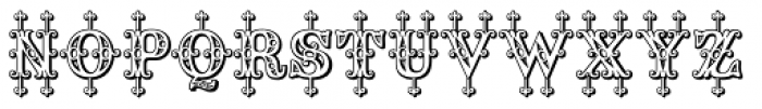Saddlery Post Font UPPERCASE