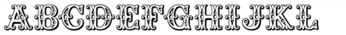 Saddlery Font UPPERCASE