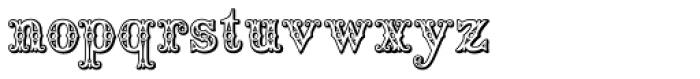 Saddlery Font LOWERCASE