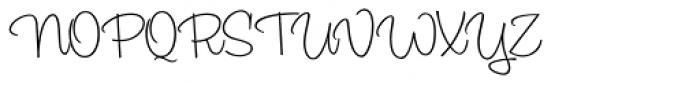 Sadey Ann Font UPPERCASE