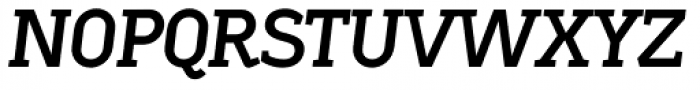 Sadi Bold Italic SC Font UPPERCASE