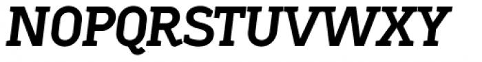 Sadi Extra Bold Italic SC Font UPPERCASE