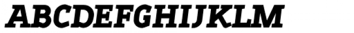 Sadi Extra Bold Italic SC Font LOWERCASE