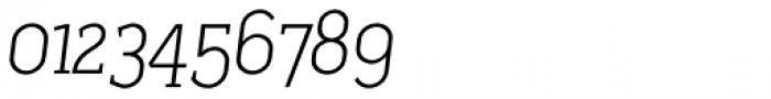Sadi Extra Light Italic SC Font OTHER CHARS