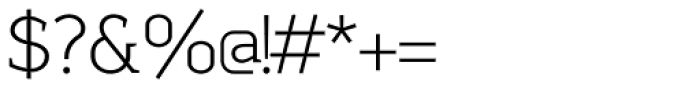 Sadi Extra Light Font OTHER CHARS